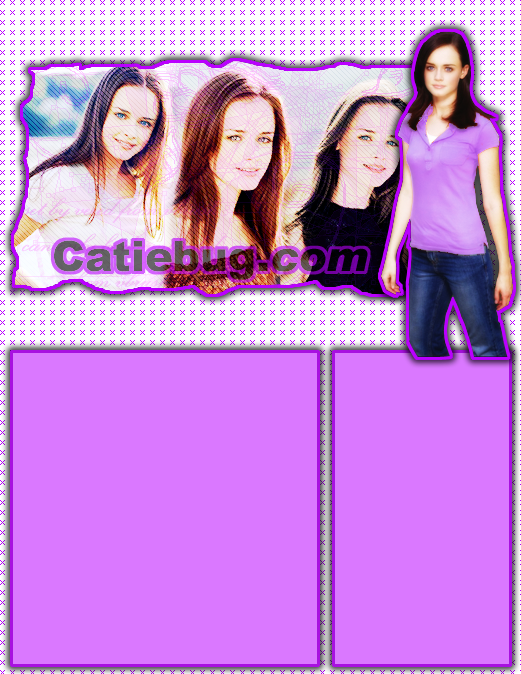 First theme on Catiebug.com, 2005